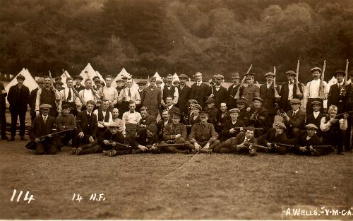 14th Battalion at Halton Park