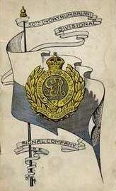Divisional Signals Company card