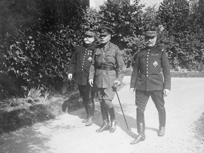 Joffre, Haig, Foch