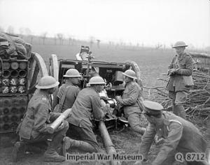 Image result for ww1 british 18 pounder