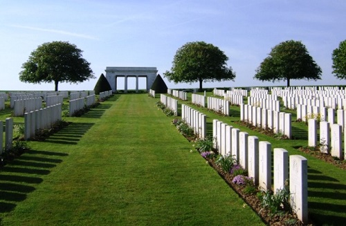Immaculate: Caterpillar Valley cemetery on the Somme
