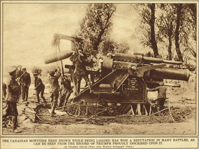 Howitzer on the Somme