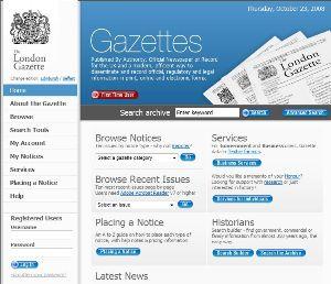 Gazettes Online