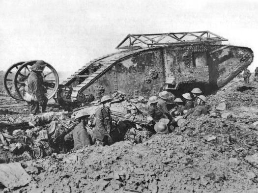 Mark 1 tank.