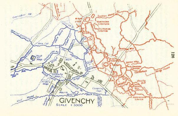Givenchy, from the Divisional history