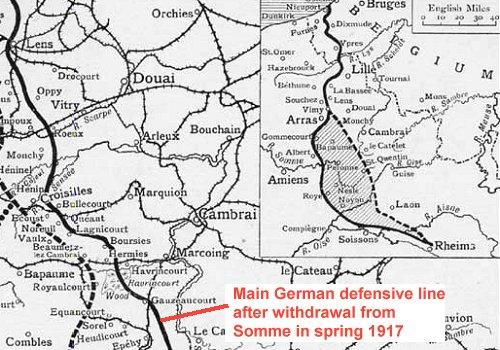 Hindenburg Line 1917