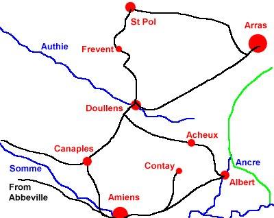 Somme rail routes