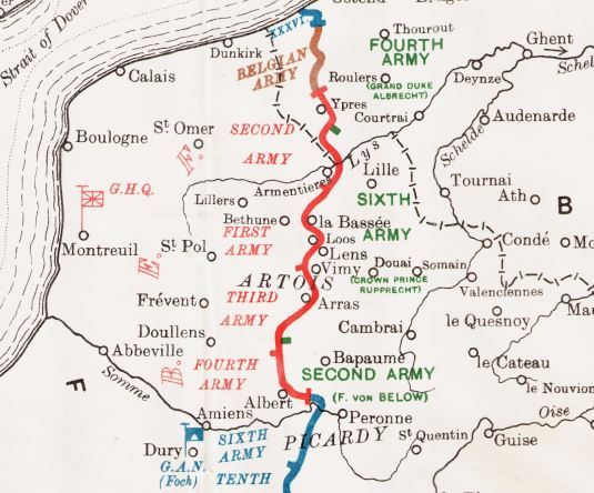 The Battles of the Somme, 1916 – The Long, Long Trail