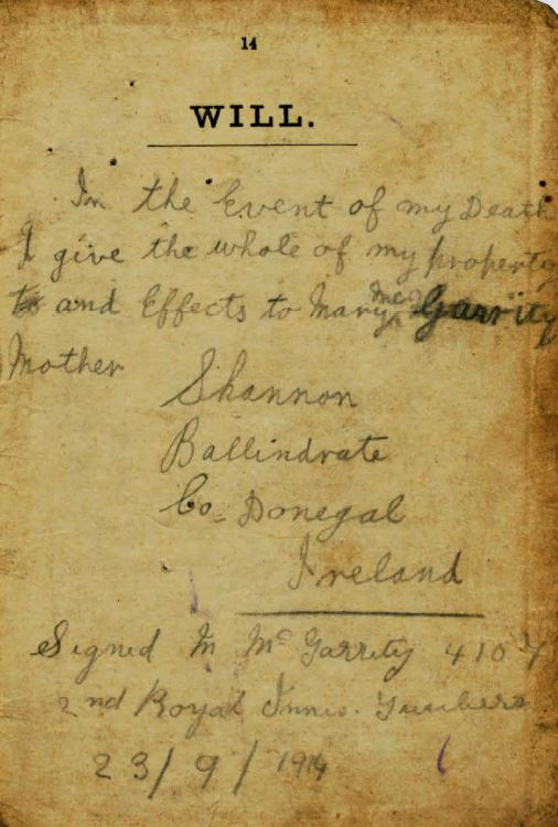 researching through soldiers wills the long long trail